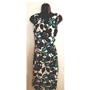 London Times Midi Length Dress